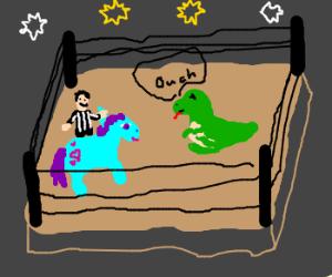 my little pony wins Smackdown