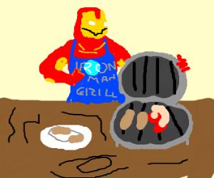 Iron Man markets new line of iron grills