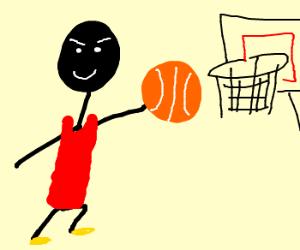 Michael Jackson plays sports
