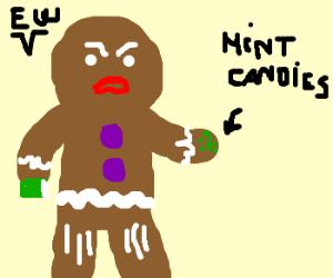 Zenzy does not like minty freshness