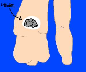 Fat leg starts growing a brain