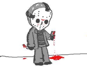 Jason Vorhees cellphone attack