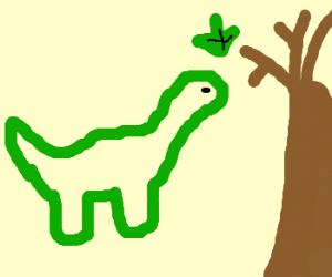Littlefoot finds a treestar