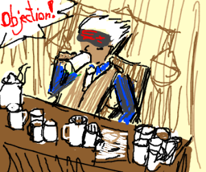 Godot is on his 17th cup of coffee...