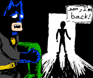 batmans father its not dead!