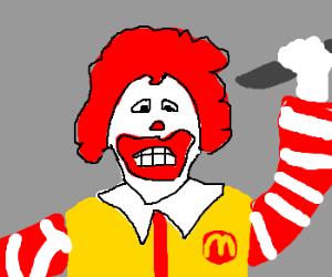 raging Ronald Mcdonald