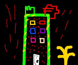 Psychadelic tower.