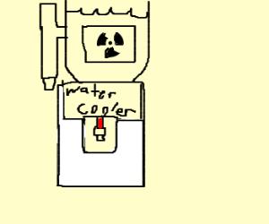 Radioactive water cooler