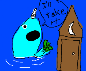 Narwhal will buy the poop house