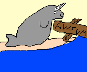 Narwhals are so awesome!