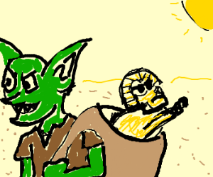 Goblins steal THE SPHINX