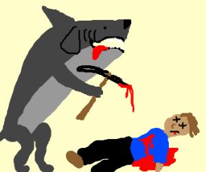Dog-Shark Ice Axe Murder