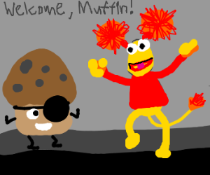Trouble Muffin joins Fraggle Rock