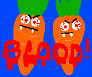 carrots bloodthirsty hangover clone