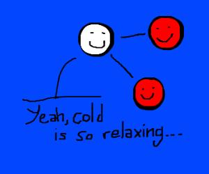 Happy molecules