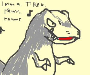 New game: Tyrannosaur