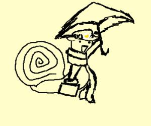 Mary Poppins Snail