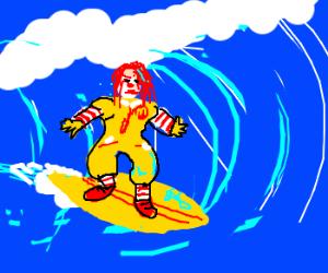 Ronald McSurfin'
