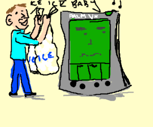 Iceman makes PDA awkward