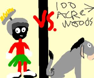 Marvin VS Eeyore