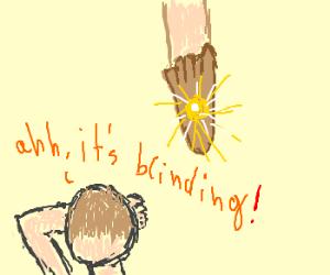 Blinding footlights