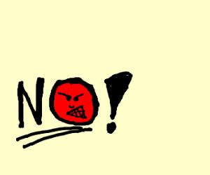 """""""No"""" rage face"""