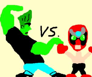 Johnny Bravocolli vs Strong Bad
