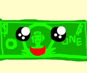 a happy dollar