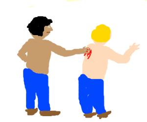 You scratch my back, I'll scratch your- - Drawception