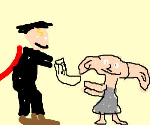 Master gave Dobby a sock