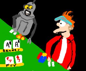 Poker bender