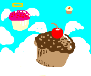 There ARE cupcakes in heaven!