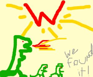 Godzilla Family finds the Big W