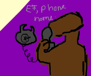 ET, phone home...