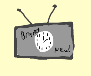 "new clock at ""as seen on tv"""