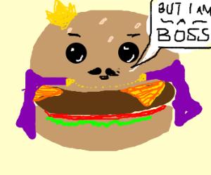 Rich burger like a boss