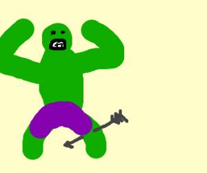 I used to be hulk before the arrow