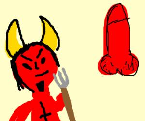 Satanic before red Dick