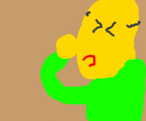 Homer punching himself
