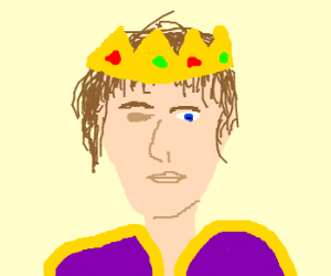 One-Eyed Man is King - Drawception