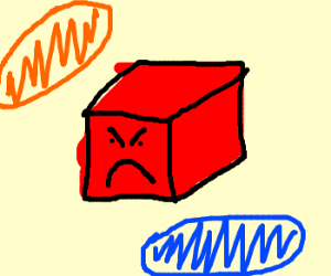 red cube's angry because of Portals
