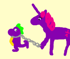 Spike is a slave for Twilight Sparkle