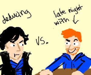 Holmes VS Conan