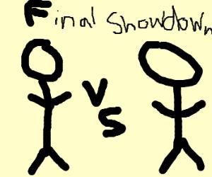 Guy vs dude, the final showdown