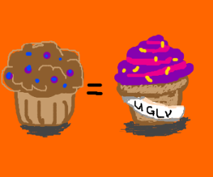 muffins are just ugly cupcakes drawception