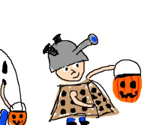 Kid's Halloween Dalek Costume