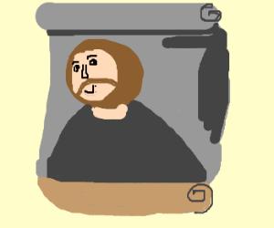 Botched Jesus painting