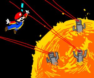 Mario Galaxy 3: Robots on the Sun