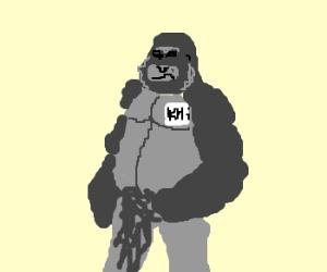 "a gorilla named ""KHi"""