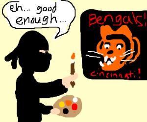 "Ninja's design 4 Bengals logo's ""good enough"""